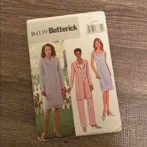 Butterick Pattern B4139 Sizes 8/10/12 Petite